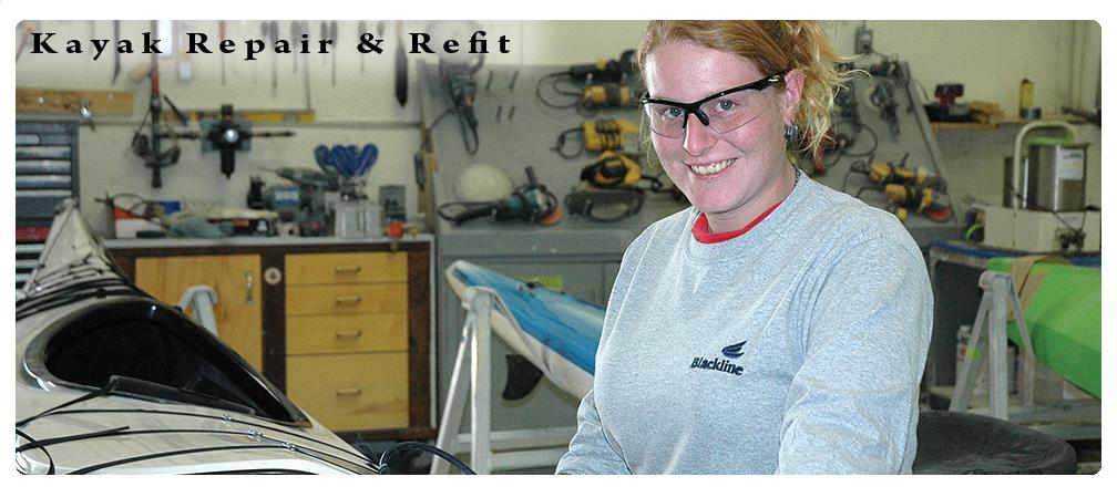 Kayak Repair & Refit