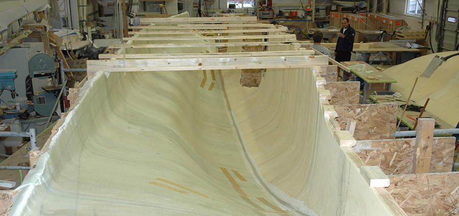 Fibreglass Hull Fabrication