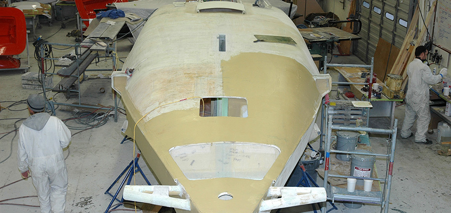 Custom Yacht Build