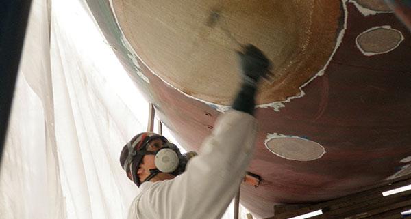 Marine Fibreglass Repair