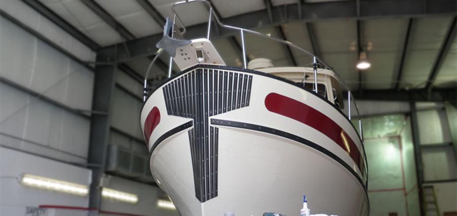 Nordic Tug Hull Refinishing After