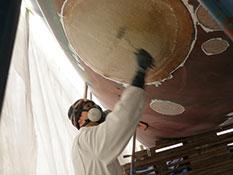 Fibreglass Hull Repair