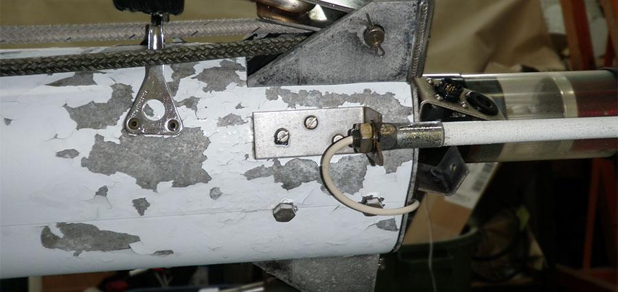 Cracked Mast Paint