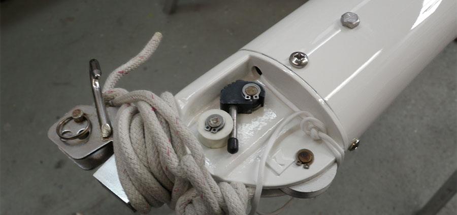Mast Rigging After Renovation