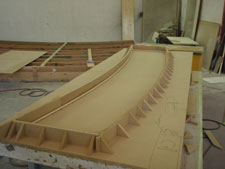 Fibreglass Swim Grid Fabrication