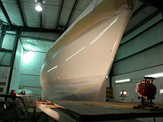 Yacht Hull Paint Topcoat